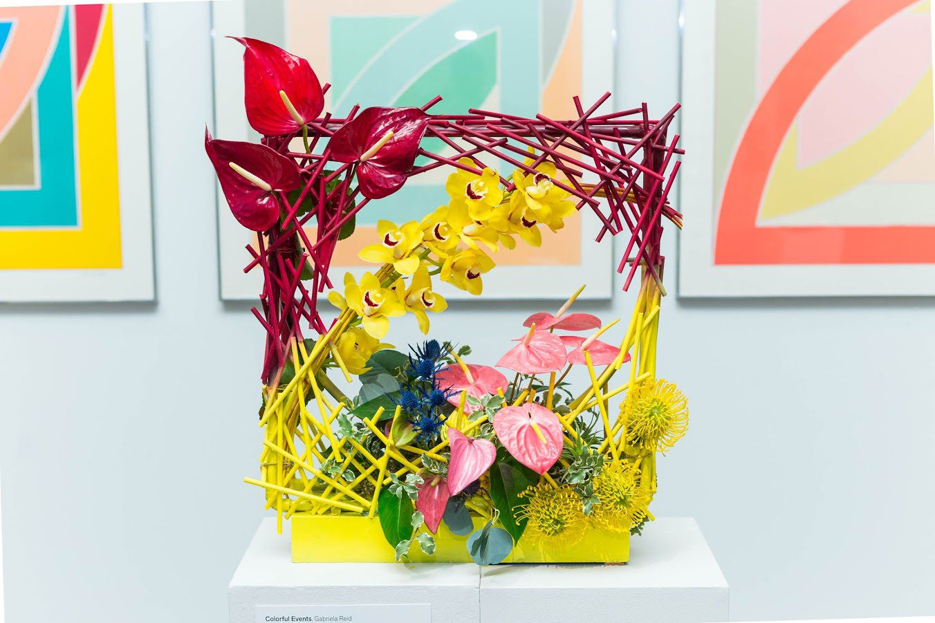 SAN FRANCISCO, CA - March 13 -  Atmosphere at Bouquets to Art 2017 at the de Young Museum on March 13th 2017 at de Young Museum in San Francisco, CA (Photo - Ando Caulfield for Drew Altizer Photography)